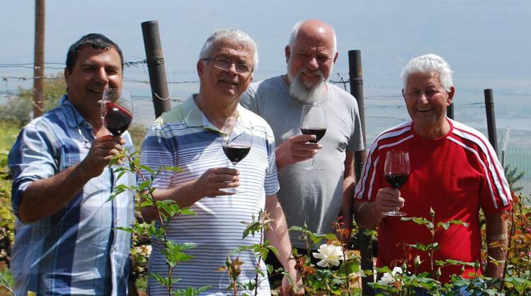 בית פתוח: פסטיבל ארבעת היקבים באיש הענבים